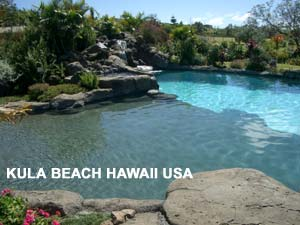 Pool Plaster |  kula Beach Hawaii USA